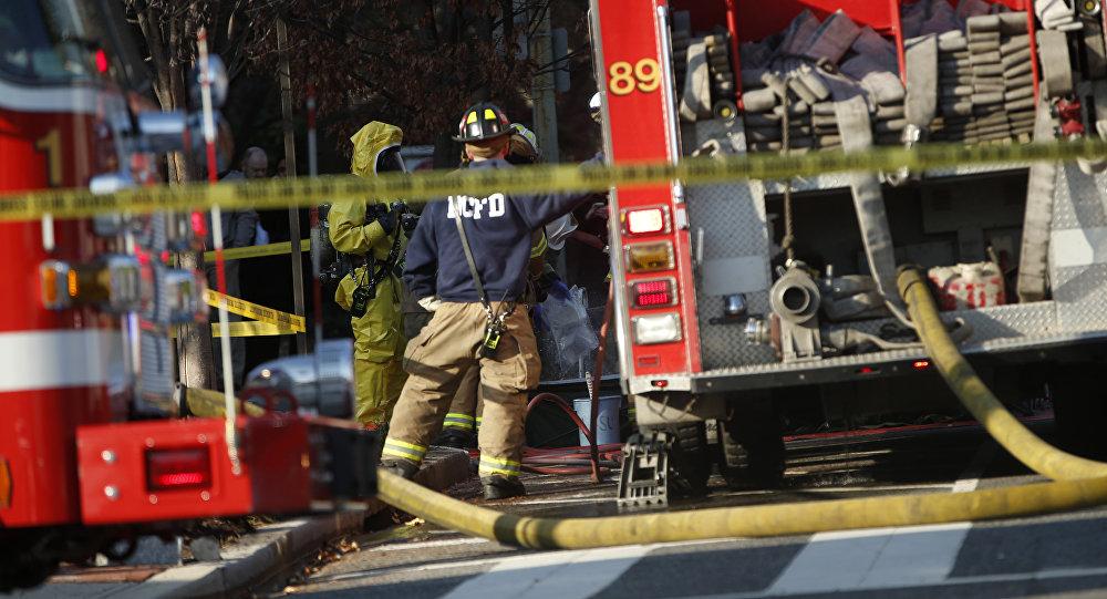Carros de bombeiros nos EUA  ( foto de arquivo)