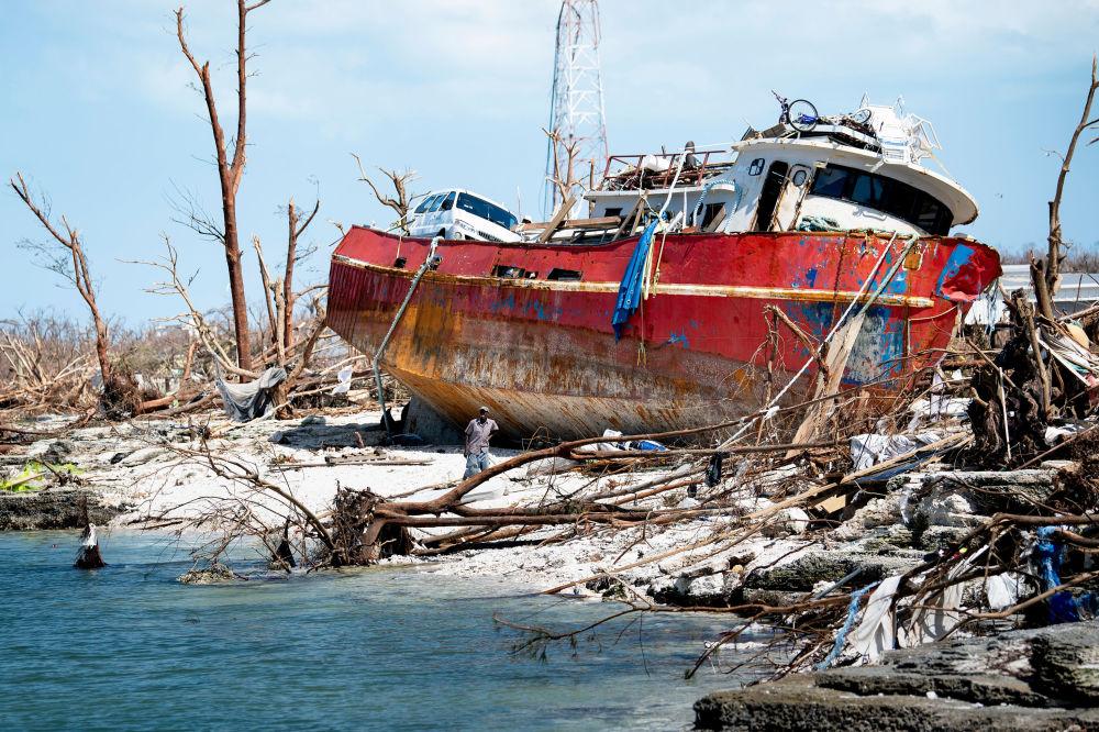 Consequências do furacão Dorian na ilha de Abaco, EUA