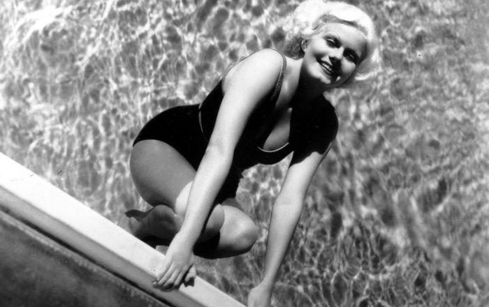 Ideal de beleza da década de 1930, atriz Jean Harlow