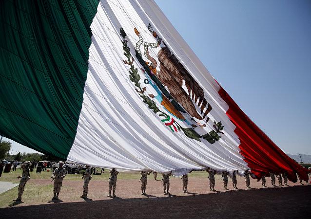 Bandeira do México.