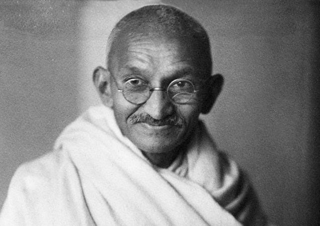 Líder indiano Mahatma Gandhi em 1931