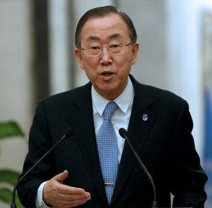 Ban Ki-moon, secretário-geral das Nações Unidas