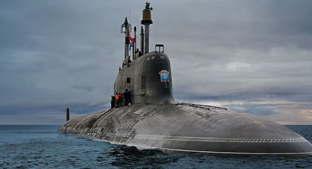 Submarino nuclear russo Yasen
