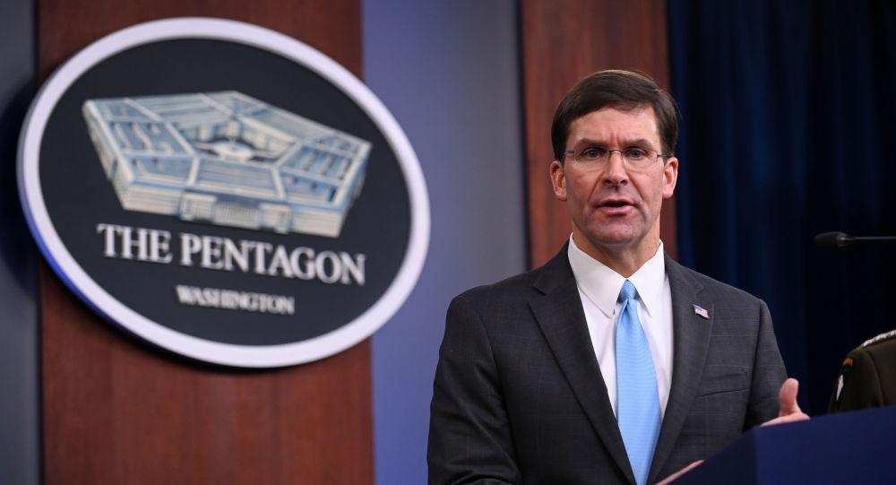Mark Esper, secretário de Defesa dos EUA