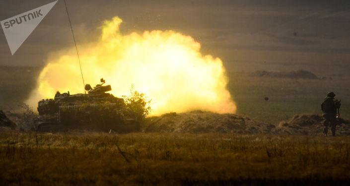 Tanque T-72B3 participa de exercício estratégico