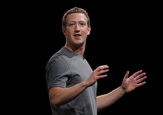 Mark Zuckerberg, CEO do Facebook.
