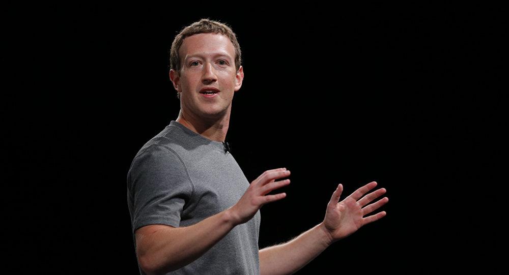 Mark Zuckerberg, CEO do Facebook.