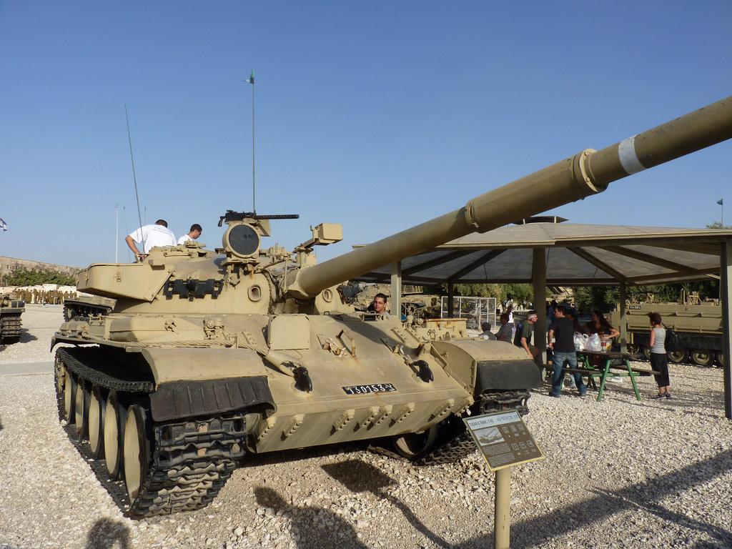 Tanque israelense Tiran TI-67