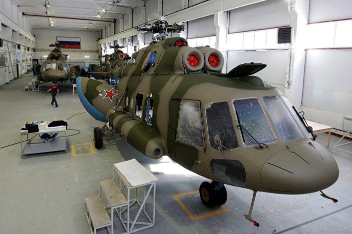 Helicópteros Mi-8 MTPR