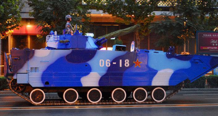 Tanques em Pequim