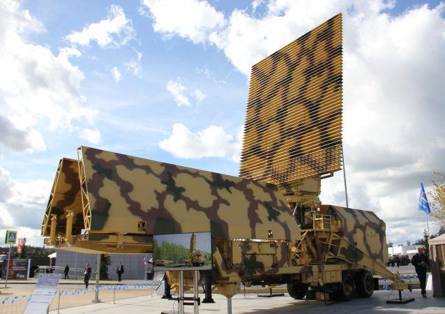 A estação de radar móvel 59N6E Protivnik-GE da Rússia