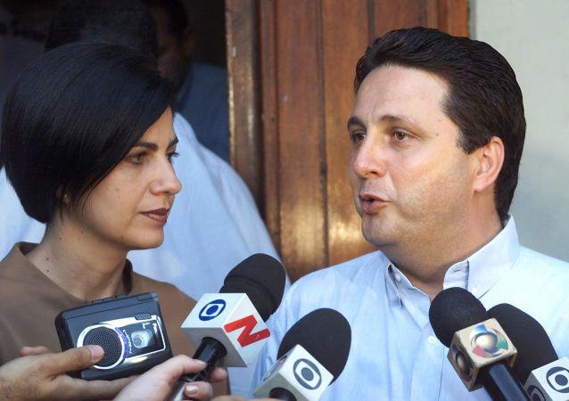 Anthony Garotinho e sua esposa Rosinha Matheus (foto de arquivo)