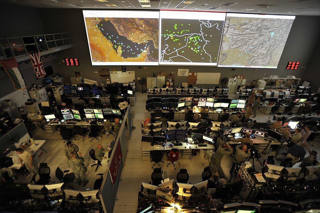 Centro de Operações Aéreas na base aérea de Al Udeid, Qatar