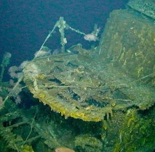 Submarino USS Grayback bombardeado há 75 anos é encontrado em Okinawa