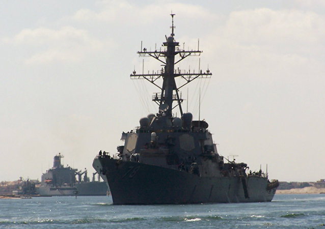 Destróier USS Porter, da Marinha dos EUA, foi alvo de aproximações perigosas de aeronaves russas no mar Negro, segundo Defesa americana