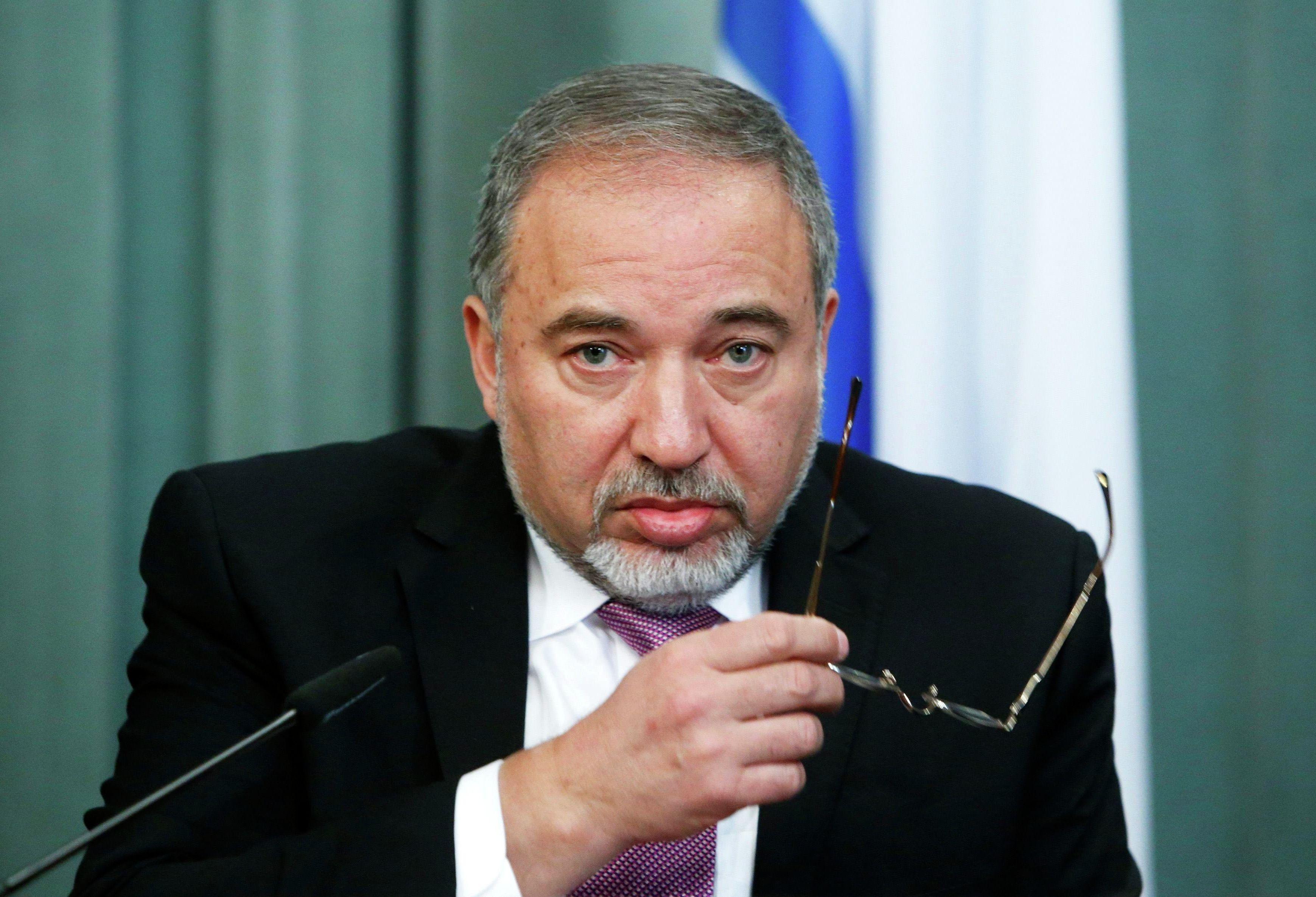 Avigdor Lieberman, ex-chanceler e ex-ministro da Defesa de Israel (foto de arquivo)