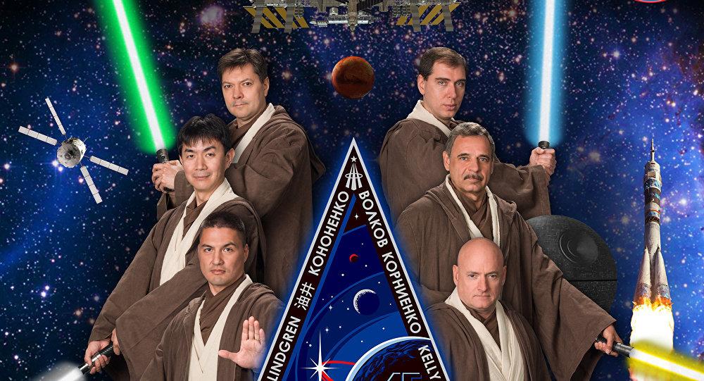 Campanha publicitária da 45a missão da NASA