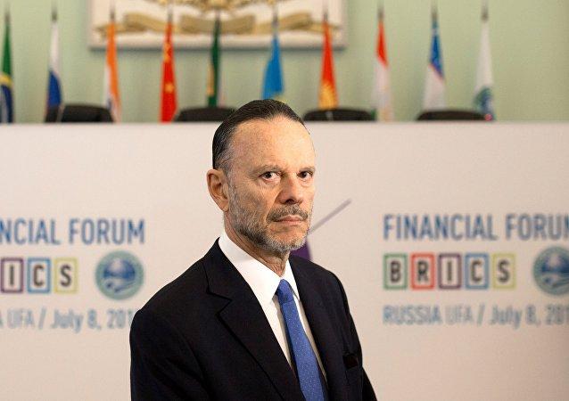 O presidente do Banco Nacional de Desenvolvimento e Sustentabilidade (BNDES), Luciano Coutinho