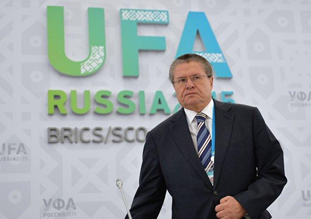 Ministro do Desenvolvimento Econômico da Rússia, Aleksei Ulyukayev