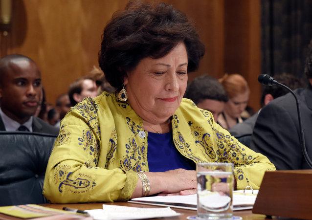 Katherine Archuleta, ex-diretora do  Escritório de Administração de Pessoal (OPM) dos EUA