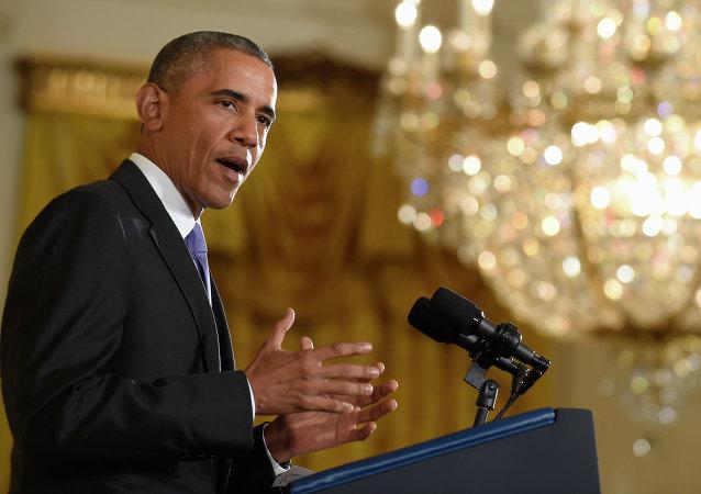 Barack Obama respondeu a perguntas sobre o acordo com o Irã em coletiva de imprensa realizada na Casa Branca nesta quarta-feira (15)