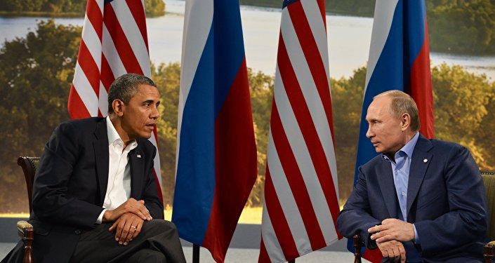 Barack Obama e Vladimir Putin