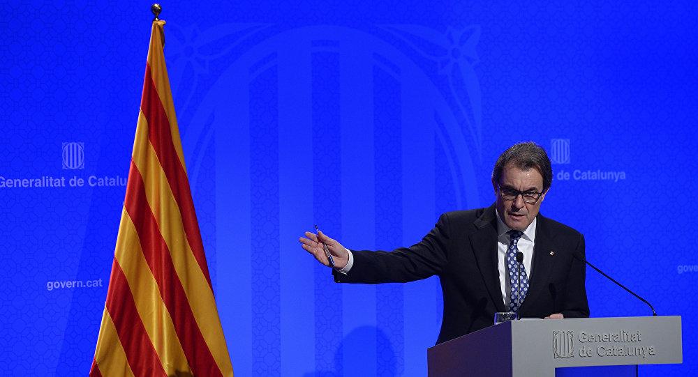 Presidente da Generalitat da Catalunha, Artur Mas. Foto de arquivo