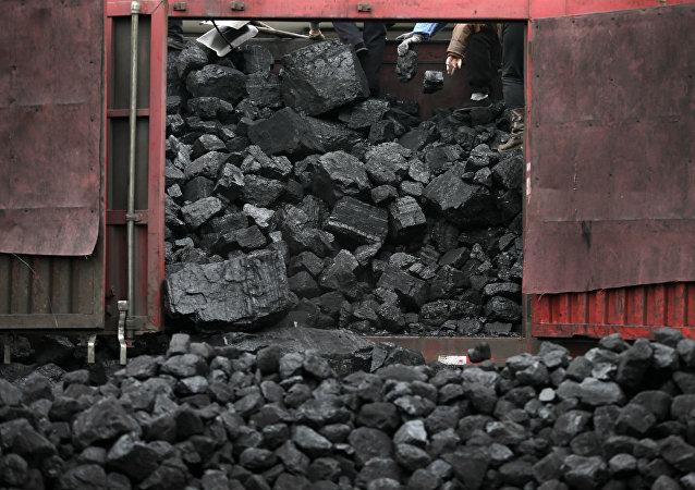 Indústria de carvão.