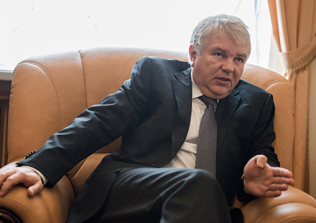 Vice-ministro das Relações Exteriores da Rússia Aleksei Meshkov