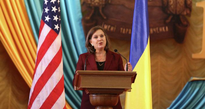 Ajudante do secretário de Estado dos EUA para Assuntos da Europa, Victoria Nuland