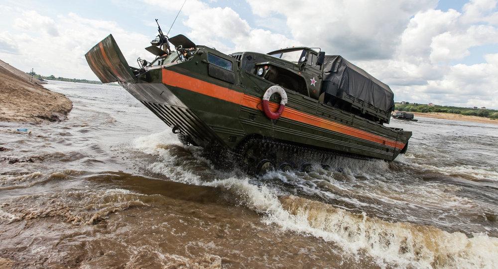 Competição militar Open Water