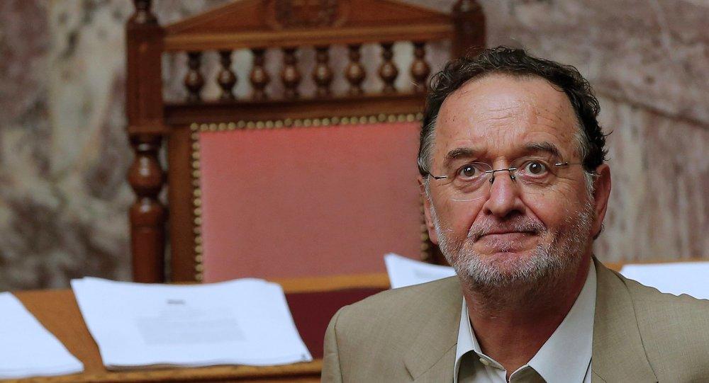 Ex-ministro da Energia da Grécia, Panagiotis Lafazanis