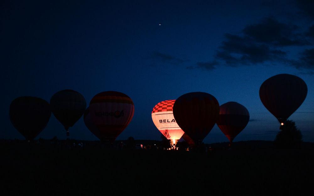 """Balões no 14º Festival de Aerostação """"Anel de Ouro Russo"""""""