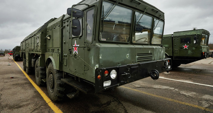 Sistemas de mísseis táticos Iskander-M