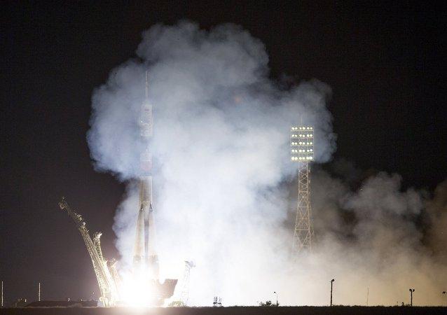 Lanzamiento del cohete Soyuz-FG