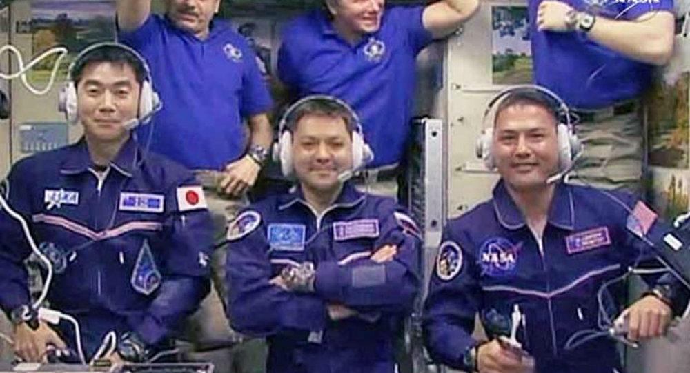 Tripulação da Estação Espacial Internacional.