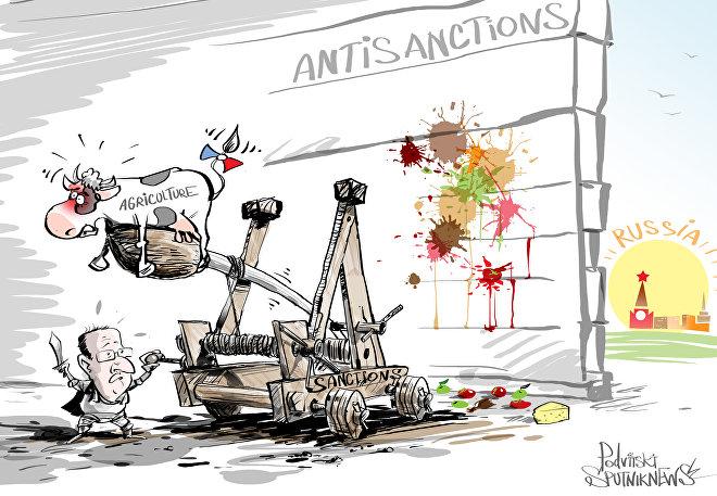 Agricultura é sacrificada, mas as sanções vivem