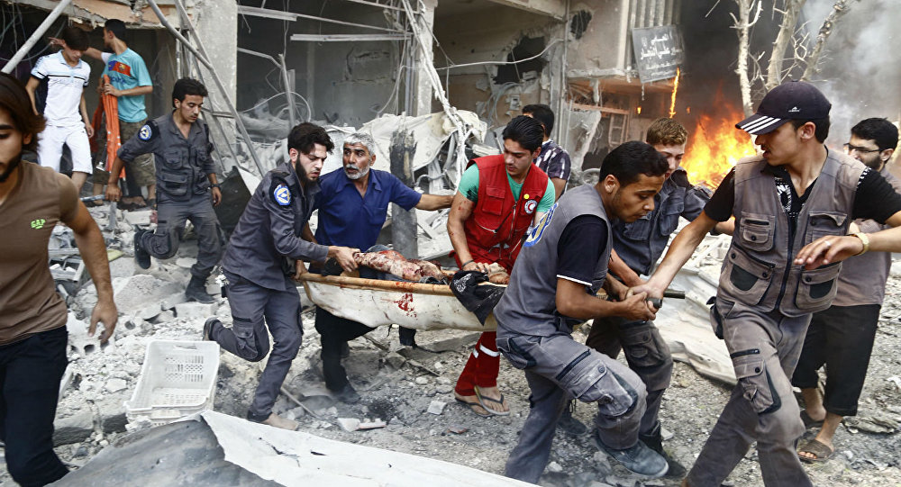 Conflito em Damasco.