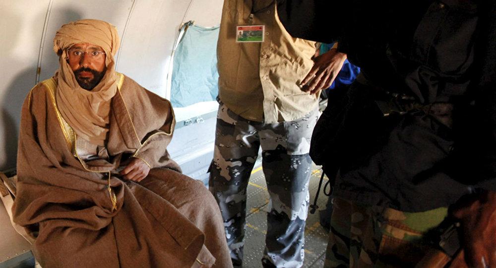 Saif al-Islam, em foto de 2011.