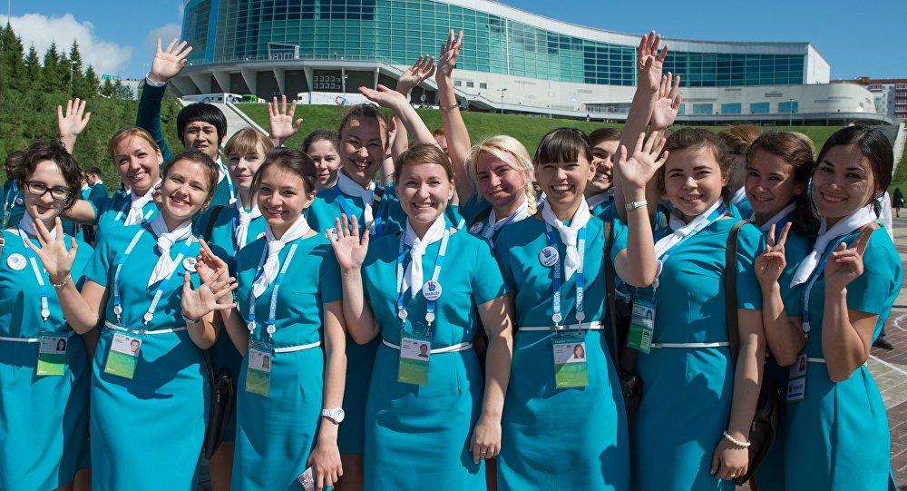 Jovens voluntários nas cúpulas dos BRICS e da SCO
