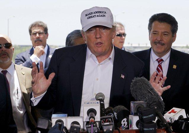 Pré-candidato presdecial norte-americano Donald Trump