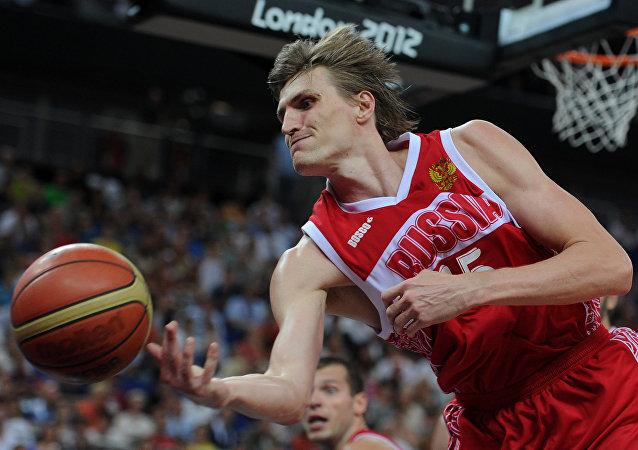 Andrei Kirilenko, astro do basquete russo em Londres-2012.