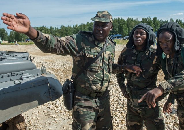 Militares das Forças Armadas de Angola