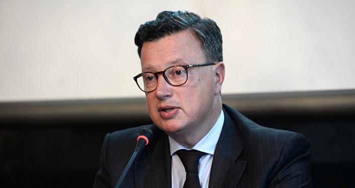 O eurodeputado francês Édouard Ferrand