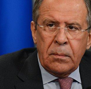 Chanceler da Rússia, Sergei Lavrov.