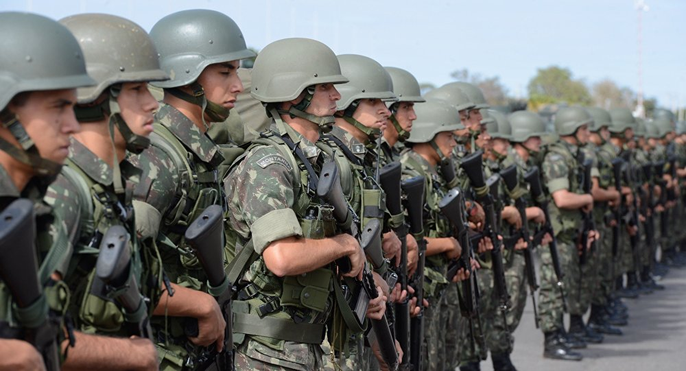 Soldados do Exército Brasileiro