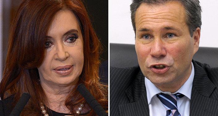 Cristina Fernández de Kirchner e Alberto Nisman