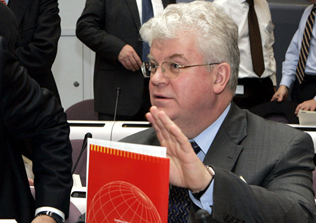 Representante permanente da Rússia na União Europeia, Vladimir Chizhov