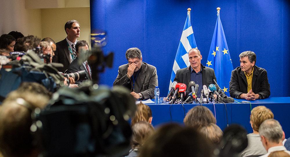 Governo grego rejeitou programa de assistência financeira da UE