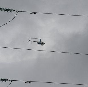 Helicóptero Robinson (foto de arquivo)